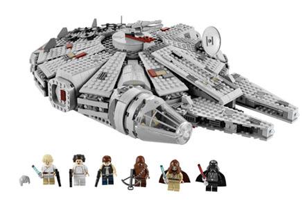 Lego Star Wars, súbete al Halcón Milenario