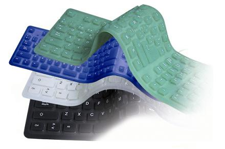 Teclado flexible