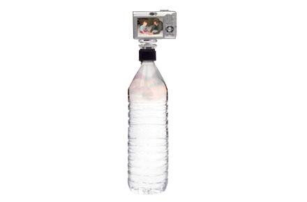 Trípode tapón de botella, para frikis fotográficos
