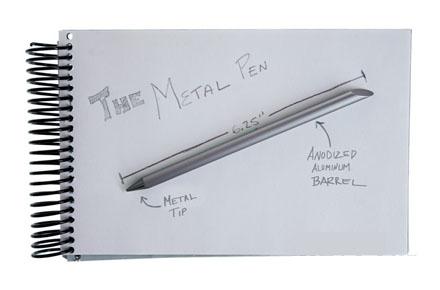 Bolígrafo infinito sin tinta