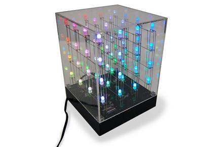 Cubo LED, para frikis con estrés