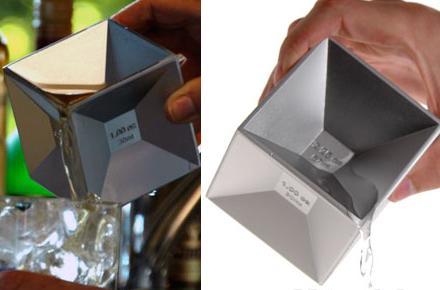 Cubo Medidor de Líquidos