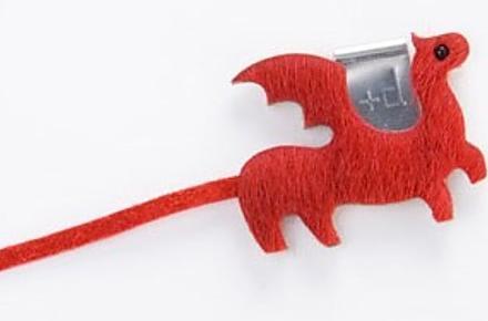 Dragón marcapáginas