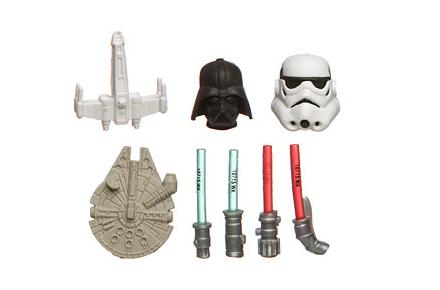 Gomas de borrar de Star Wars