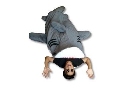Saco de dormir Chumbuddy con forma de tiburón