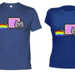 Camiseta Nyan Cat