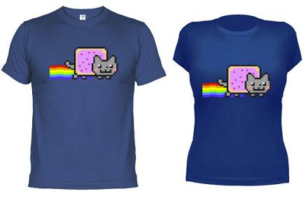 Camiseta Nyan Cat