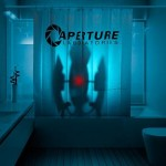 Cortina de baño Aperture Laboratories, Portal 2