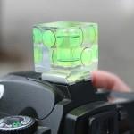 Nivel de burbuja para cámaras