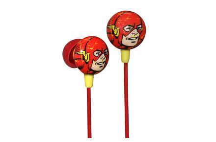 Auriculares con la cara de Flash