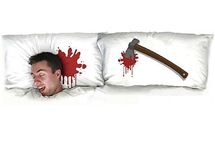 "Fundas para almohadas ""Muerto de cansancio"""