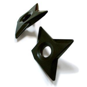 Imanes con forma de estrella ninja