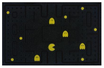 Felpudo de Pacman, un nuevo homenaje