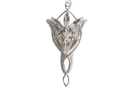 Collar con colgante Estrella del Atardecer de Arwen del Señor de los Anillos