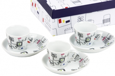 Tazas espresso cableadas, ¡friki pero con clase!