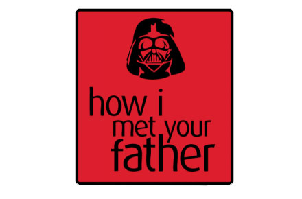 Camiseta Darth mets your mother
