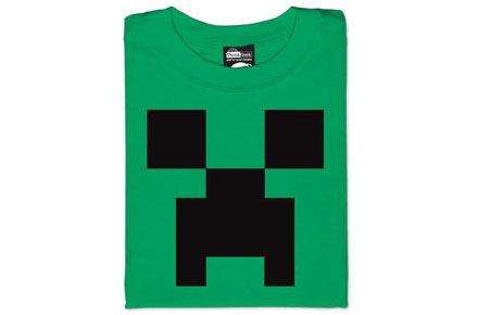 Minecraft Creeper Camiseta
