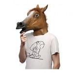 Máscara cabeza caballo