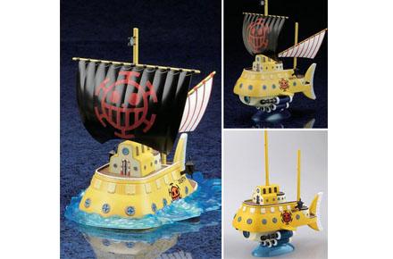 Submarino de Trafalgar Law [One Piece]