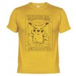 Camiseta El Pikachu de Vitruvio