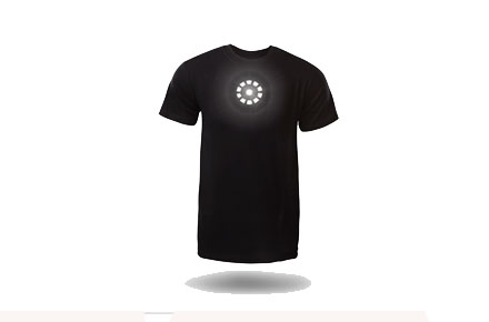 Camiseta Reactor Tony Stark