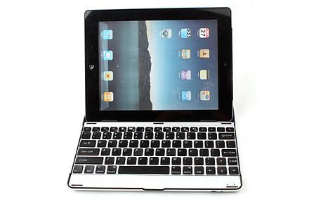 Teclado para iPad vía Bluethooth y ultraligero de aluminio