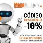 Código descuento de MegaGadgets de un -10% en exclusiva para los lectores de Regalos Frikis