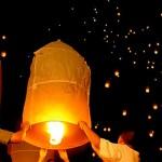 Lámparas Voladoras Thai