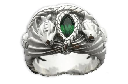 Anillo Barahir de Aragorn, ¡la joya más friki del Señor de los Anillos!