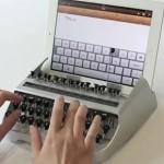 Máquina de escribir para Ipad