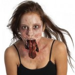 Prótesis barbilla zombie