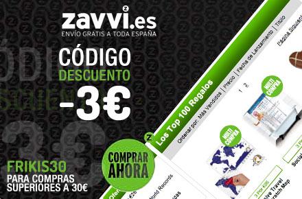 Código descuento de Zavvi.es exclusivo para los lectores de RegalosFrikis