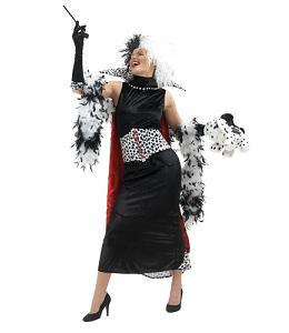 Disfraces frikis para Halloween 2012: Disfraz de Cruella de Vil, 101 Dálmatas
