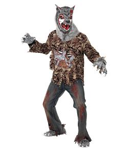 Disfraces frikis para Halloween 2012: Disfraz de hombre lobo - Zombie