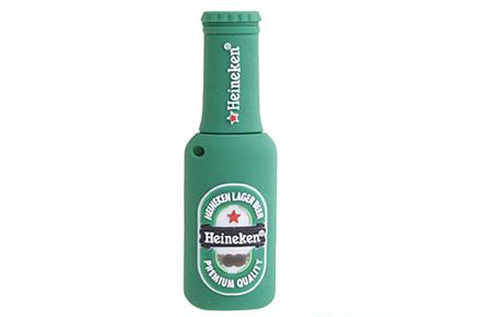 Botella Heineken USB, llena de tus datos más importantes.