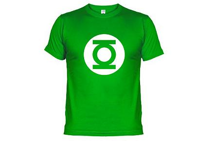 Camiseta de Sheldon Linterna Verde