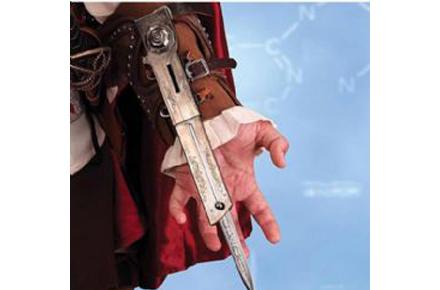 Cuchillo del Antebrazo del Assassin Creed II, consigue el mejor disfraz