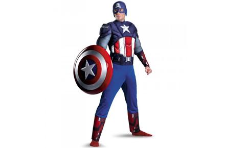 Disfraz del Capitán América, ¡y disfruta de todas tus fiestas!