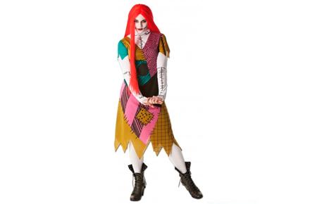 Disfraz Sally, la muñeca de trapo de Pesadilla Antes de Navidad