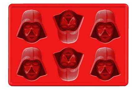 Molde para cubitos de hielo de Darth Vader, haz tus bebidas más frikis