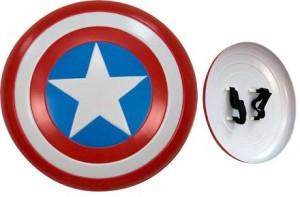 Disfraces frikis para Halloween 2012: Escudo Capitán América