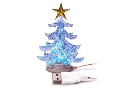 Árbol de Navidad USB, la navidad también es electrónica