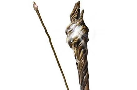 Replica del Bastón con luz del Mago Gandalf, del Señor de los Anillos