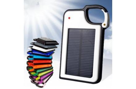 Cargador solar, tu salvación diaria