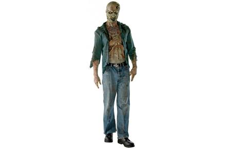 Disfraz de Zombie de The Walking Dead, el más terrorífico