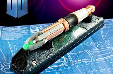 Mando Universal Destornillador Sónico del Doctor Who
