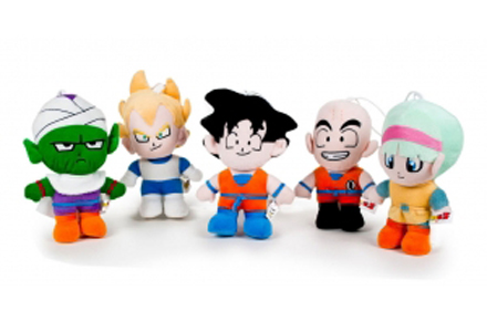 Pack de Peluches de Dragon Ball, tus personajes favoritos