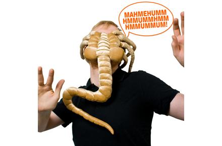 Peluche de Alien, el abrazacaras