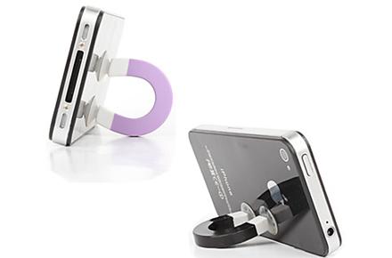Soporte con forma de imán para iPhone