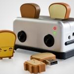 Pack Tostadora y Tostadas USB